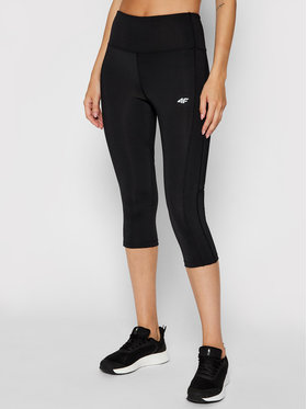 4F 4F Leggings NOSH4-SPDF002 Nero Slim Fit