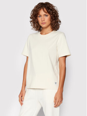 Reebok Reebok T-Shirt Classics Non Dye GR0394 Beżowy Regular Fit
