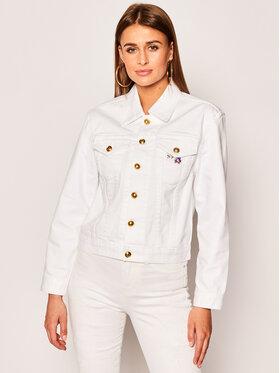Tory Burch Tory Burch Giacca di jeans Classic 64756 Bianco Regular Fit