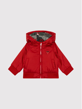 Guess Guess Giubbotto piumino I1YL00 WCFM0 Rosso Regular Fit