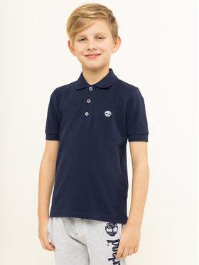 Timberland Timberland Polo marškinėliai T25P13 D Tamsiai mėlyna Regular Fit