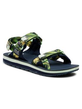 Jack Wolfskin Jack Wolfskin Sandale Outfresh Deluxe Sandal W 4039451 Verde