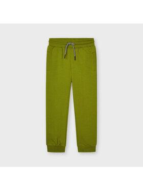 Mayoral Mayoral Teplákové kalhoty 742 Zelená Regular Fit
