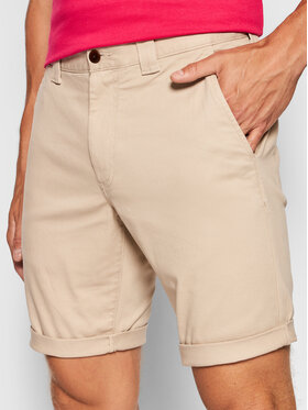 Tommy Jeans Tommy Jeans Σορτς υφασμάτινο Scanton DM0DM11076 Μπεζ Slim Fit