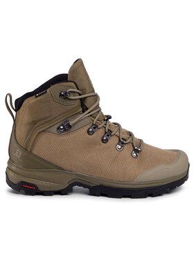 Salomon Salomon Trekingová obuv Outback 500 Gtx GORE-TEX 406925 27 G0 Zelená