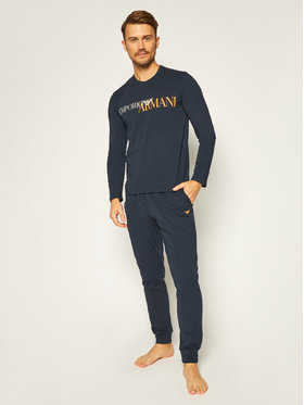 Emporio Armani Underwear Emporio Armani Underwear Pyjama 111907 0A516 00135 Dunkelblau