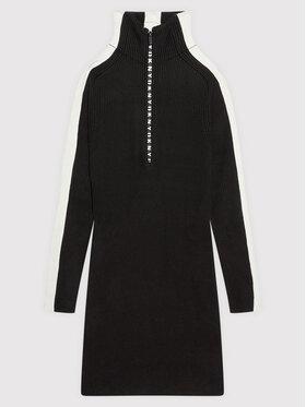 DKNY DKNY Každodenné šaty D32808 D Čierna Regular Fit