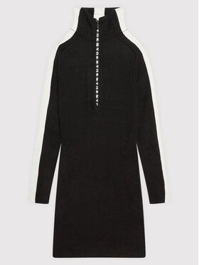 DKNY DKNY Sukienka codzienna D32808 D Czarny Regular Fit