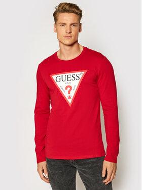 Guess Guess Majica dugih rukava M1RI31 I3Z11 Crvena Slim Fit