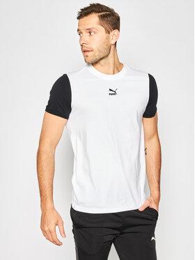 Puma Puma T-shirt 596465 Blanc Regular Fit