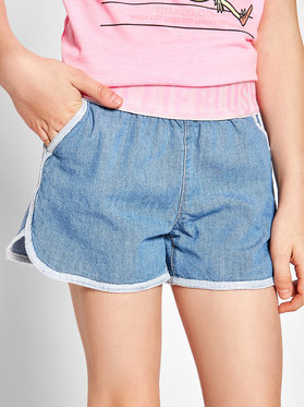 Billieblush Billieblush Short en jean U14425 Bleu Regular Fit