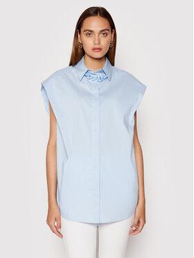 Imperial Imperial Košile CJU2BBE Modrá Oversize