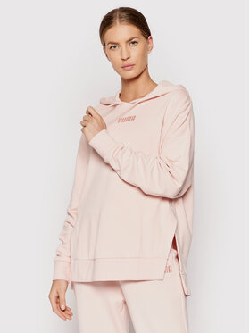 Puma Puma Sweatshirt Tr 589519 Rosa Relaxed Fit