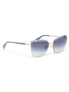 Furla Furla Okulary przeciwsłoneczne Sunglasses SFU403 403FFS7-MT0000-K3500-1-007-20-CN-D Granatowy
