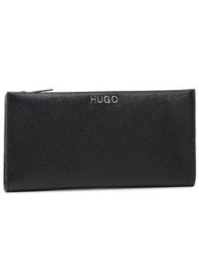 Hugo Hugo Portefeuille femme grand format Victoria Flat Wall-F 50424200 Noir