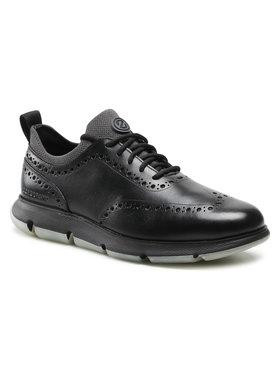 Cole Haan Cole Haan Sneakersy 4Zg Wingtip Oxford C33452 Čierna