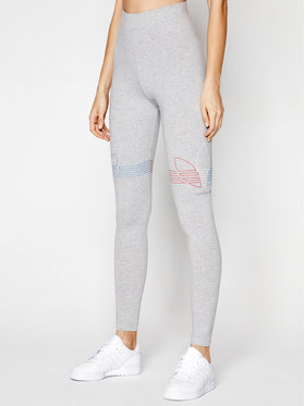 adidas adidas Leggings adicolor Tricolor GN2958 Szürke Tight Fit