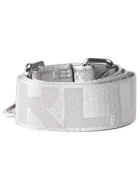 KARL LAGERFELD KARL LAGERFELD Austauschbarer Handtaschenriemen 210W3999 Silberfarben
