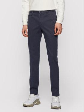 Boss Boss Chino kalhoty Broad1-W 50447070 Tmavomodrá Slim Fit