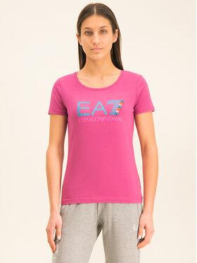 EA7 Emporio Armani EA7 Emporio Armani T-shirt 3HTT31 TJ12Z 1499 Rosa Regular Fit