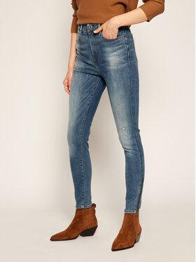 G-Star Raw G-Star Raw Super Skinny Fit Jeans Ankle D17223-9136-B823 Dunkelblau Super Skinny Fit