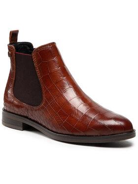 Salamander Salamander Členková obuv s elastickým prvkom Dinia 32-41805-04 Hnedá