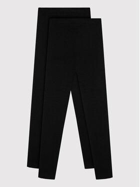 NAME IT NAME IT 2 pár leggins 13180828 Fekete Slim Fit