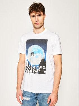 Iceberg Iceberg T-Shirt 20EI1P0F0236301 Bílá Regular Fit