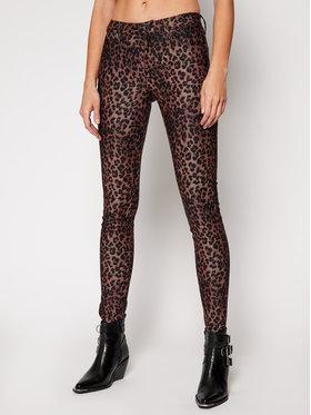 Guess Guess Pantaloni din material Sexy Curve W1RAJ3 WDT11 Maro Skinny Fit