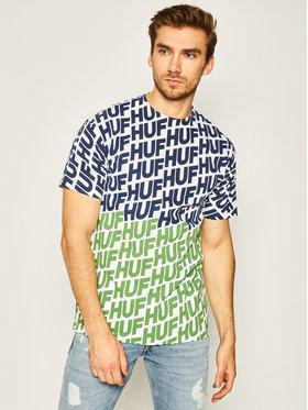 HUF HUF T-shirt Wave TS01001 Bijela Regular Fit