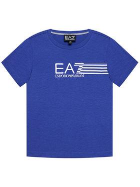 EA7 Emporio Armani EA7 Emporio Armani T-Shirt 3KBT54 BJ02Z 1570 Modrá Regular Fit
