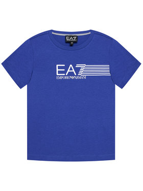 EA7 Emporio Armani EA7 Emporio Armani T-Shirt 3KBT54 BJ02Z 1570 Niebieski Regular Fit