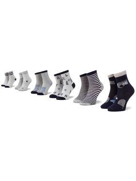 Mayoral Mayoral Sada 6 párů dětských vysokých ponožek 9244 Tmavomodrá