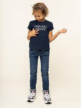 Emporio Armani Emporio Armani Marškinėliai 8N3T03 3J08Z 0933 Tamsiai mėlyna Regular Fit