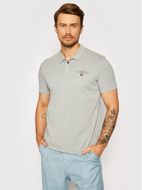 Napapijri Napapijri Polo marškinėliai Elli 1 NP0A4F9P Pilka Regular Fit