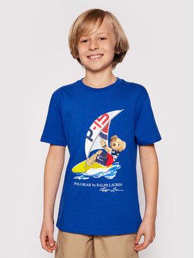 Polo Ralph Lauren Polo Ralph Lauren T-shirt Ss Cn 323838249002 Plava Regular Fit