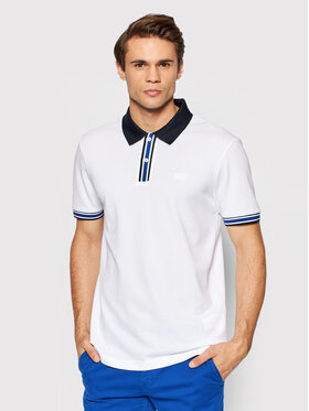 Boss Boss Polo Parlay 126_Ad 50461247 Blanc Regular Fit