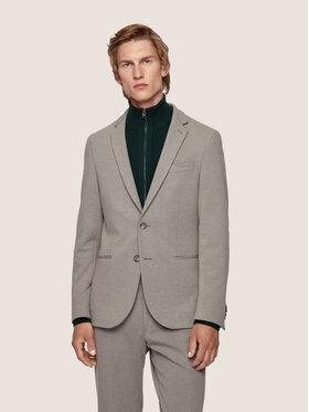 Boss Boss Marynarka Norwin4-J 50439384 Szary Slim Fit