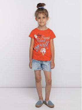 Primigi Primigi T-Shirt Jersey 43222556 Pomarańczowy Regular Fit