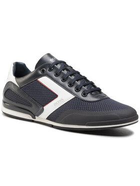 Boss Boss Sneakersy Saturn 50445677 10230782 01 Tmavomodrá