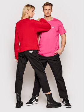 Diamante Wear Diamante Wear Spodnie materiałowe Unisex Classic 5442 Czarny Regular Fit
