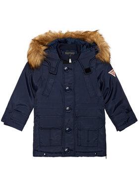 Guess Guess Zimní bunda N0BL09 WDH90 Tmavomodrá Regular Fit