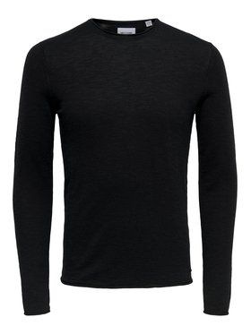 Only & Sons ONLY & SONS Пуловер Daren 22016111 Черен Regular Fit