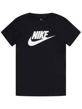 NIKE NIKE Tricou Sportswear AR5252 Negru Standard Fit