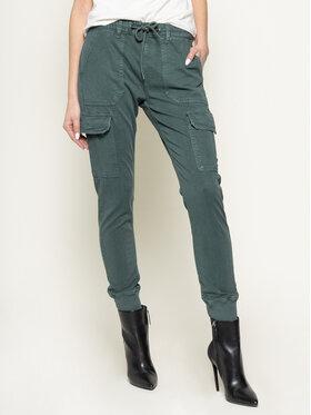 Pepe Jeans Pepe Jeans Текстилни панталони Crusade PL211262Y Зелен Regular Fit