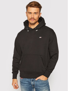 Tommy Jeans Tommy Jeans Felpa Tjm Detail Hoodie DM0DM09784 Nero Regular Fit
