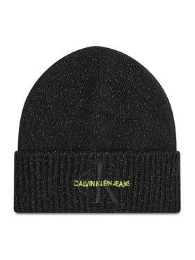 Calvin Klein Jeans Calvin Klein Jeans Шапка Monogram Reflective Beanie K50K507179 Черен