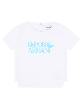 Emporio Armani Emporio Armani T-Shirt 3HHT02 4J09Z 0100 Weiß Regular Fit