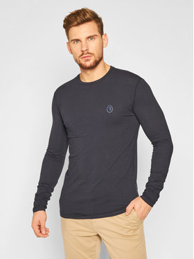 Trussardi Trussardi Тениска с дълъг ръкав 52T00376 Тъмносин Regular Fit