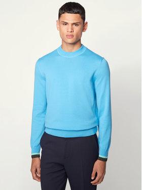 Boss Boss Sweter Ifeo 50430093 Niebieski Regular Fit